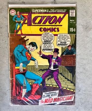 Action Comics #382 15 cent Cover Silver Age