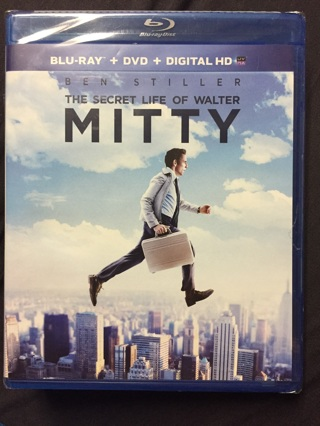 THE SECRET LIFE OF WALTER MITTY BLU-RAY AND DVD