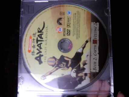 Avatar the last air bender book 2 disk 2