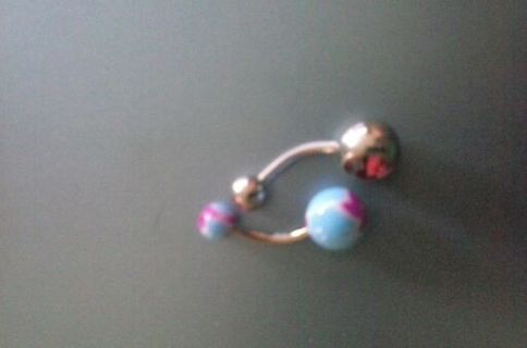 New 14 gauge belly button rings 2 rings