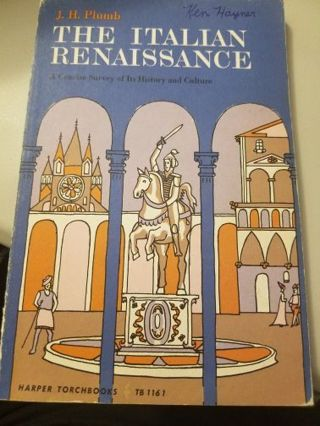 The Italian Renaissance Softcover Book