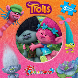 Brand New Gift Quality (CHRISTMAS!!) My First Puzzle Book Trolls Toy for Boys or Girls
