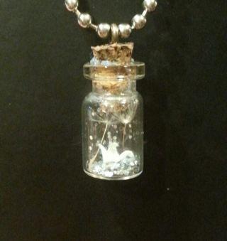 ★HANDMADE★ Wish Bottle necklace
