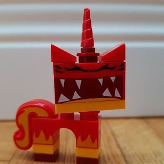New Super Angry Kitty Minifigure Building Toy Custom Lego