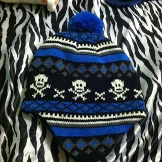 Skulls Winter Hat