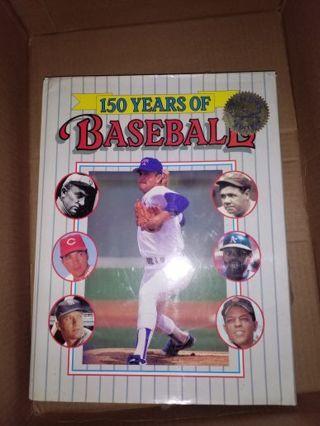 150 years of baseball book