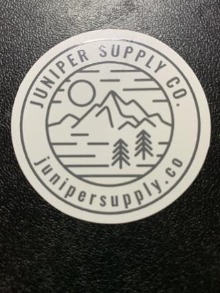 ***1 ~ JUNIPER SUPPLY CO. ~ Sticker / Decal