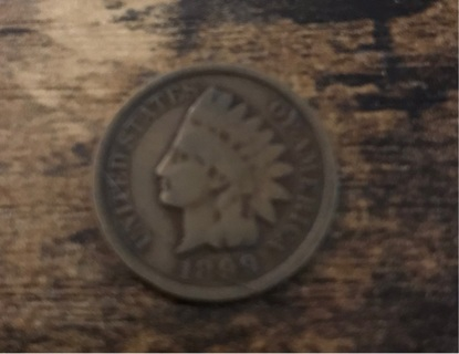 1899 Indian Head Penny Coin