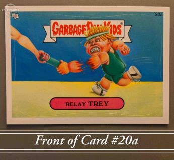 """2012 Topps Garbage Pail Kids Card #20a • """"RELAY TREY"""" • New • See Photos"""