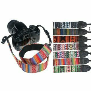 SLR DSLR Camera Neck Shoulder Strap Belt Durable Cotton