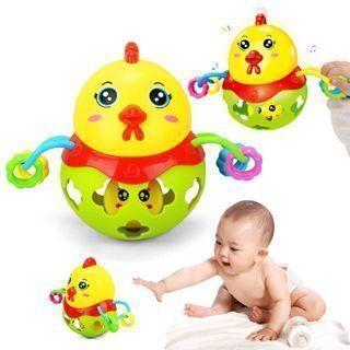 Ball Bells Toy Baby Handbell Chick Rattles Musical Instrument Rattles Ball