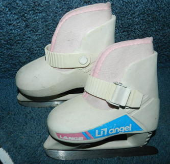 Free  Girls Toddler size 6 7 ICe Skates cute - Girls  Clothing ... d19203441ece