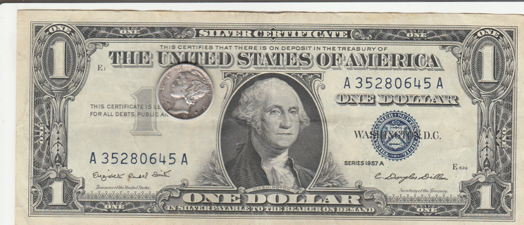 $Silver Certificate Silver Dime$$