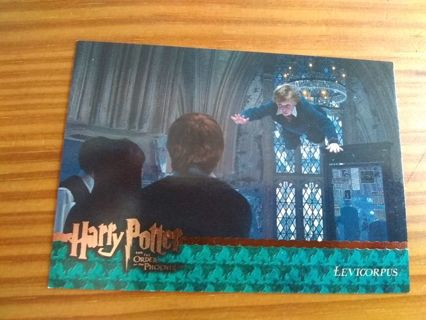 Harry Potter The Order of the Phoenix Trading Card