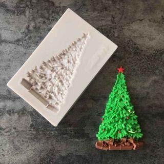 Christmas Tree Silicone Cake Fondant Mould Sugarcraft Decor Chocolate Mold Tool