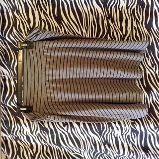 Gray short skirt, 3x
