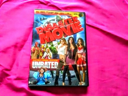 Disaster Movie - dvd - comedy - unrated