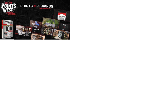**1** UNUSED 100 POINTS** MARLBORO REWARDS CODE**