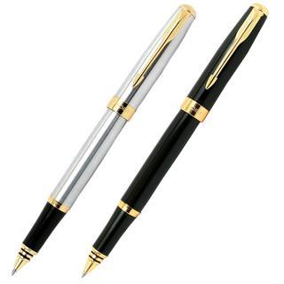 Baoer 388 High Quality Silver And Golden Clip Roller Ball Pen Business & School Supplies Hot