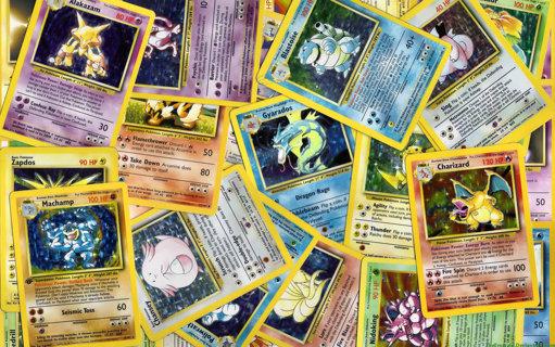 2 random pokemon cards