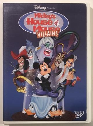 Disney Presents Mickey's House of Villains DVD Movie - Mint Disc!