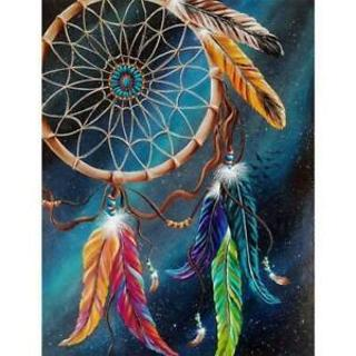 Dreamcatcher DIY 5D Full Drill Diamond Painting Embroidery Cross Stitchs Crystal