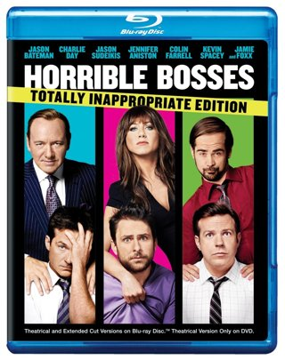 Horrible Bosses *Totally Inappropriate Edition* (Digital HD Download Code Only) *Jennifer Aniston*