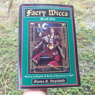 FAERY WICCA: Theory and Magick ~ Book of Shadows and Lights ☽✪☾ Witchcraft Witch Pagan Spells NICE!