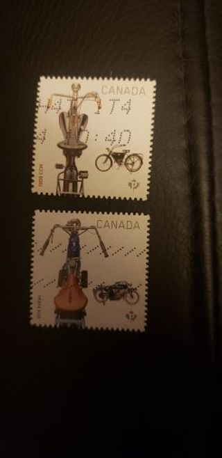 Canada stamps. Used