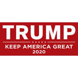 2020 Trump Bumper Sticker