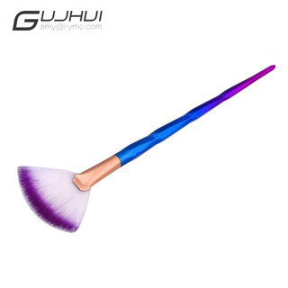 Highlighter Brush New 1Pcs  Fan Brush Diamond Portable Makeup Brush Beauty Tools Pincel Para Maquiag