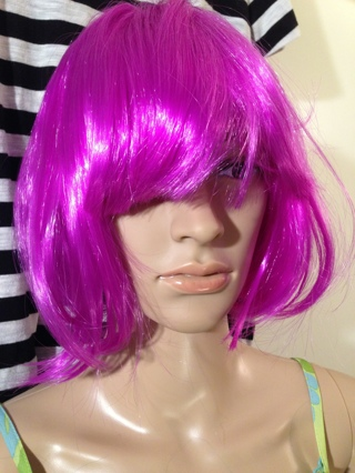 1 NEW Anime Cosplay Wig Role Play Costume Hair Dress Up LARP FREE SHIPPING