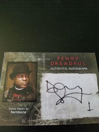 Penny dreadful autograph
