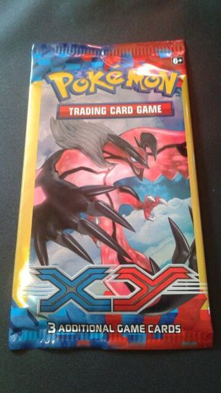Pokemon Booster Pack ( 3 cards )