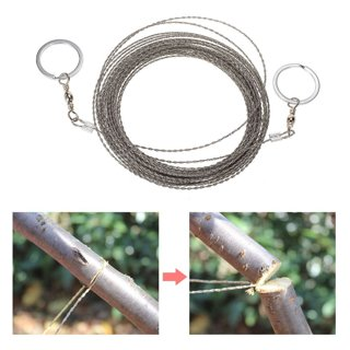 Outdoor Survival Wire Saw Hand