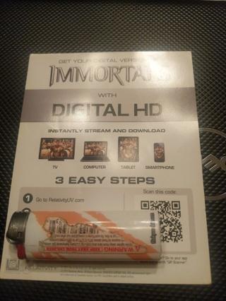 Immortals digital copy