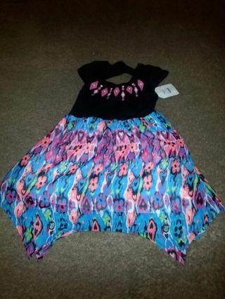 TODDLER GIRLS FADED GLORY XS/XCH (4/5) DRESS BRAND NEW