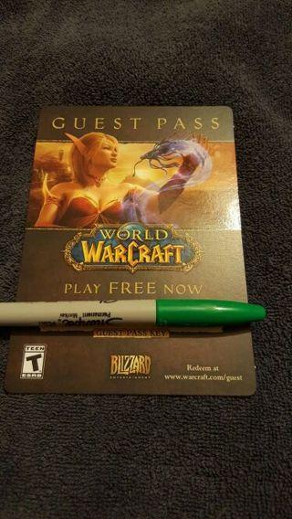 World of war craft WOW Pc game