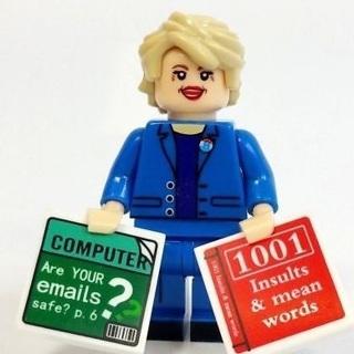 New Hillary Minifigure Building Toy Custom Lego