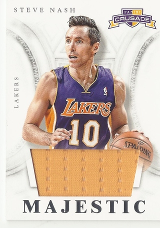 brand new 44d1d 9927a Free: 2012-13 Lakers Steve Nash Jersey card - Sports Trading ...