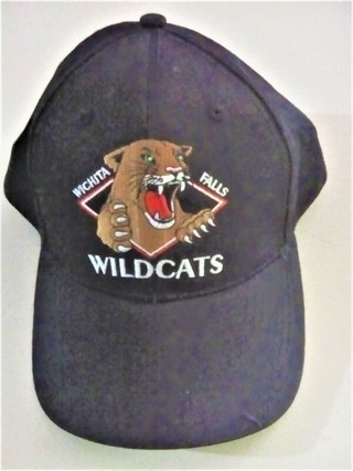 MEOW !!! Heavy Black Adjustable Ball Cap  For Cat Lovers Or Sports Fans