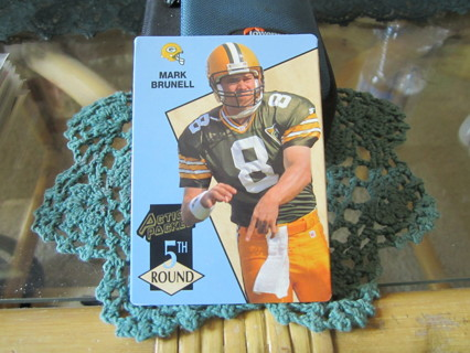 "***1993 ACTION PACKED "" ROOKIE "" FOOTBALL CARD***MARK BRUNELL***GREEN BAY PACKERS***"
