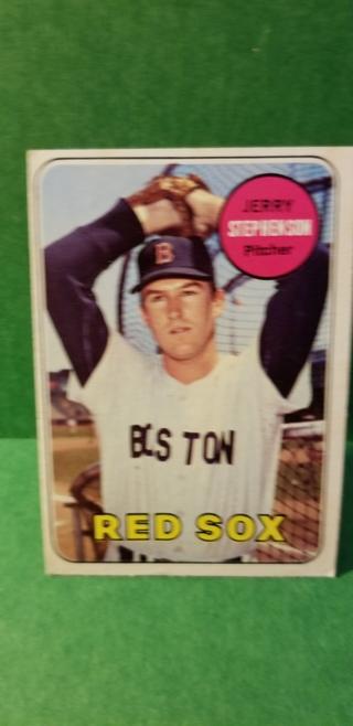 1969 - TOPPS EXMT - NRMT BASEBALL - CARD NO. 172 - JERRY STEPHSON - RED SOX