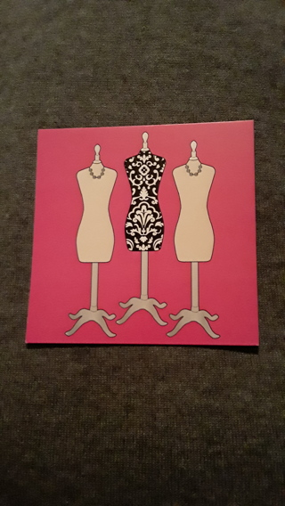 Card - Mannequin Stand