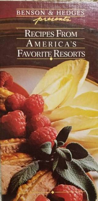 RECIPIES FROM AMERICA'S FAVORITE RESORTS