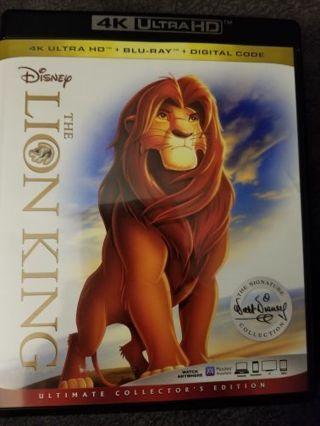 Lion king digital code