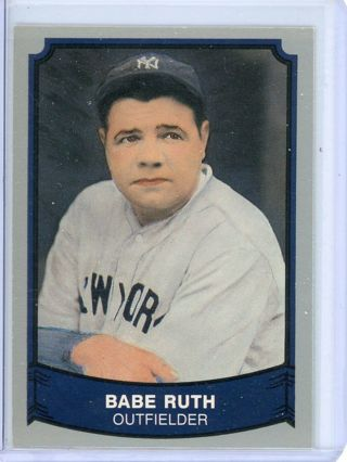 BABE RUTH - NEW YORK YANKEES BASEBALL CARD - FREE SHIPPING