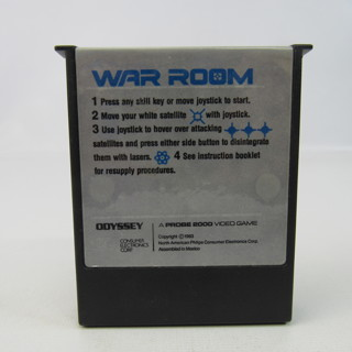 War Room Odyssey Vintage Video Game Cartridge 1983 Probe 2000