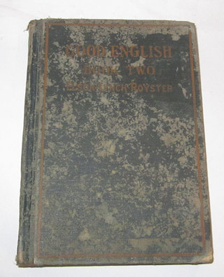 VERY OLD GOOD ENGLISH BOOK TWO ELSON-LYNCH ROYSTER