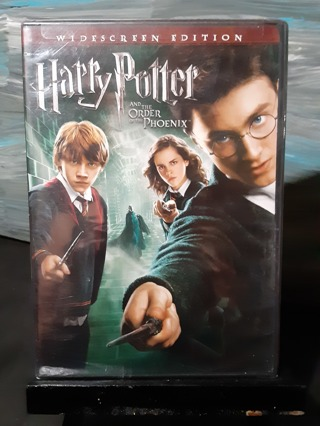 "BRAND NEW ~ HARRY POTTER ""ORDER PHOENIX"" DVD"